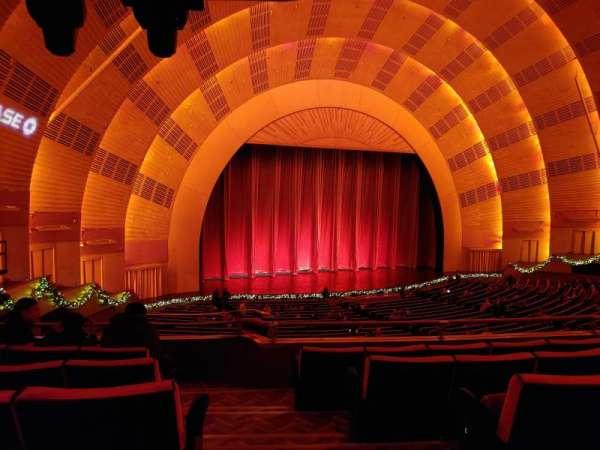 Radio City Music Hall, vak: 1st Mezzanine 7, rij: E, stoel: 701