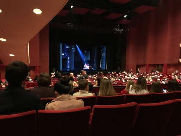 San Diego Civic Theatre, vak: Dress Circle, rij: E, stoel: 49
