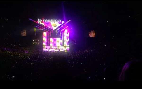 Staples Center, vak: 206, rij: 11, stoel: 8