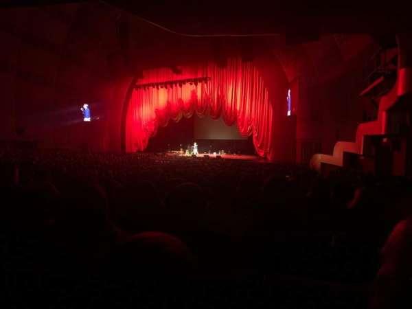 Radio City Music Hall, vak: 1, rij: P, stoel: 103