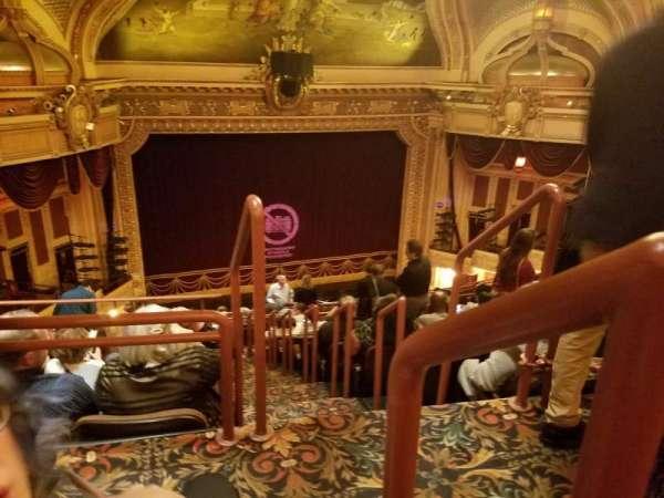 Hippodrome Theatre, vak: Left Upper Balcony, rij: N, stoel: 201