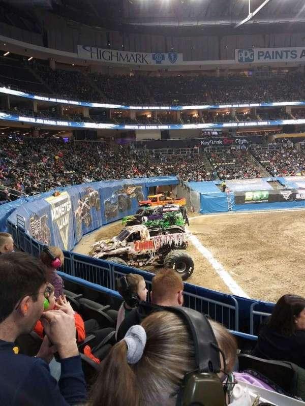 PPG Paints Arena, vak: 116, rij: S, stoel: 3