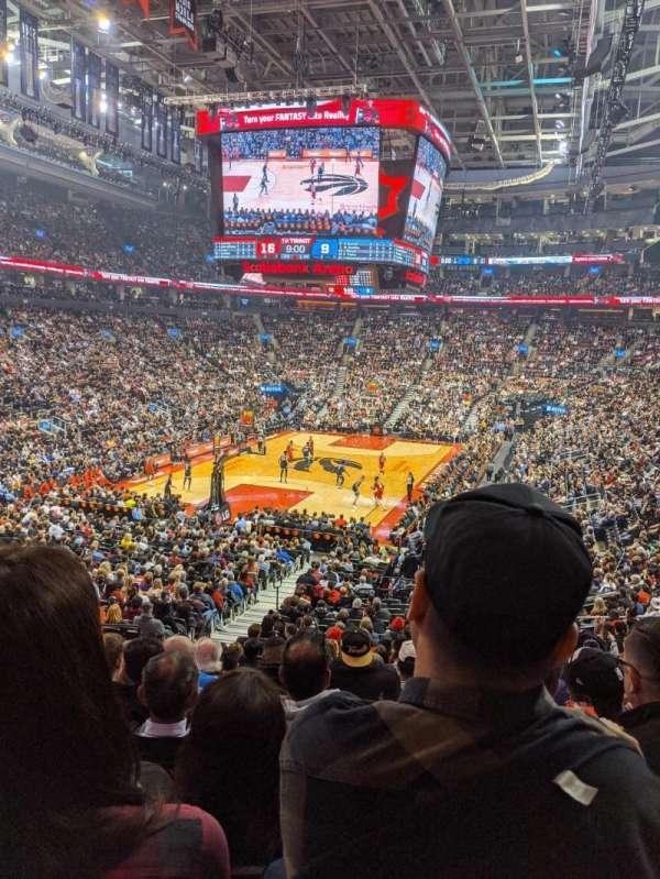 Scotiabank Arena, vak: 112, rij: 26, stoel: 15