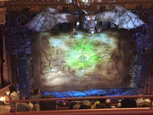 Hippodrome Theatre, vak: Center Upper Balcony, rij: M, stoel: 304