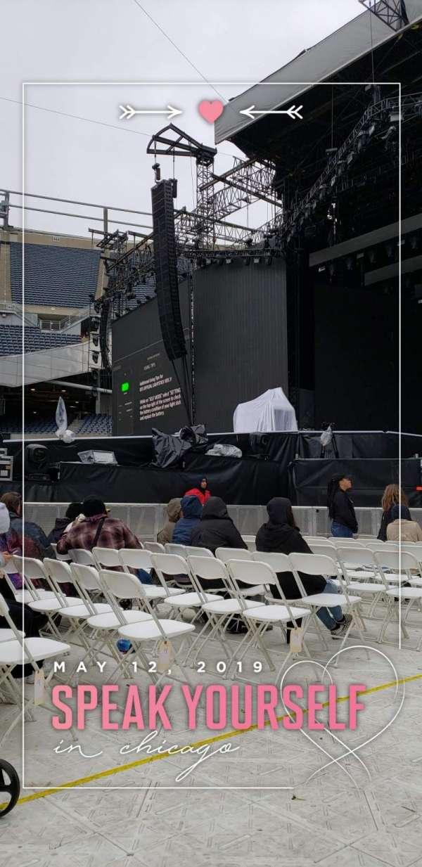 Soldier Field, vak: A2, rij: 16, stoel: 1