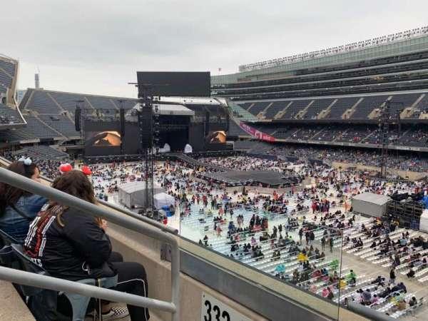 Soldier Field, vak: 331, rij: 2, stoel: 2