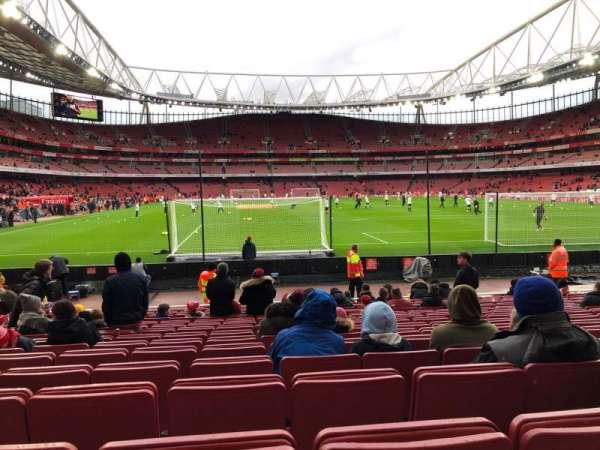 Emirates Stadium, vak: 26, rij: 15, stoel: 795