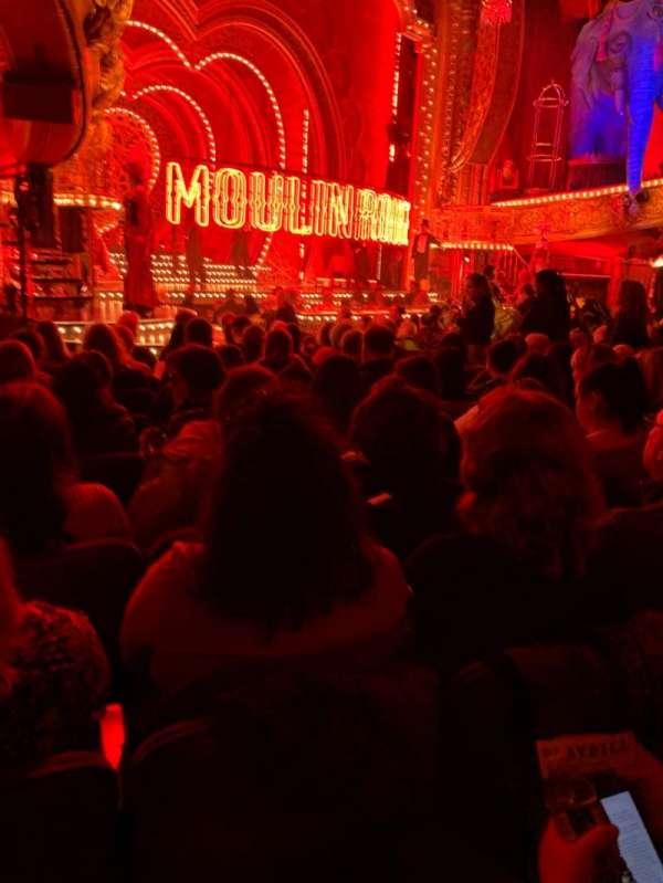 Al Hirschfeld Theatre, vak: Orchestra L, rij: O, stoel: 25