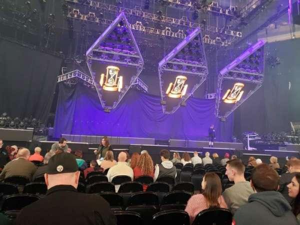 PPG Paints Arena, vak: Floor 3, rij: J, stoel: 5