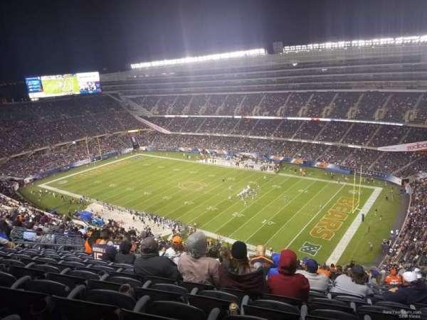 Soldier Field, vak: 431, rij: 12, stoel: 14-16