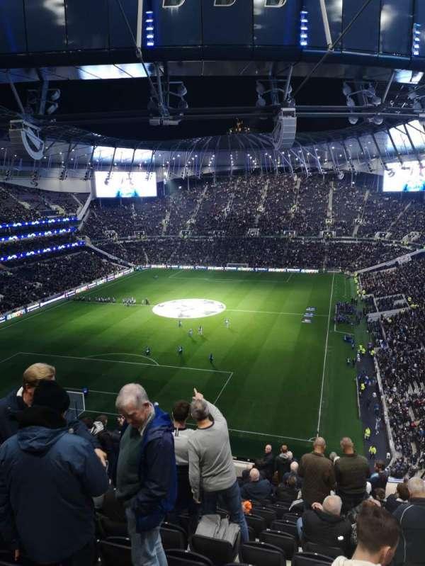 Tottenham Hotspur Stadium, vak: 513, rij: 17, stoel: 429