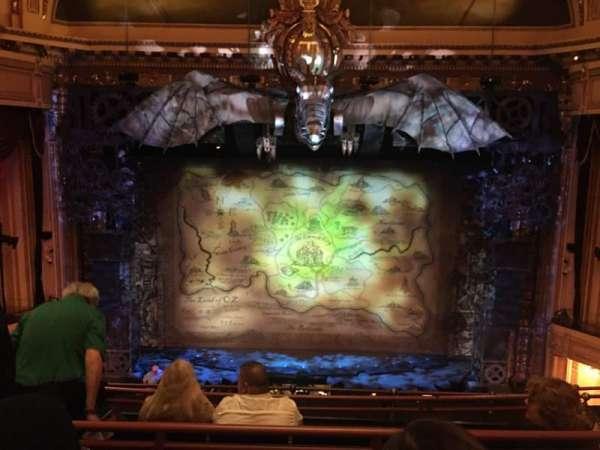 Hippodrome Theatre, vak: Center Middle Balcony, rij: E, stoel: 310
