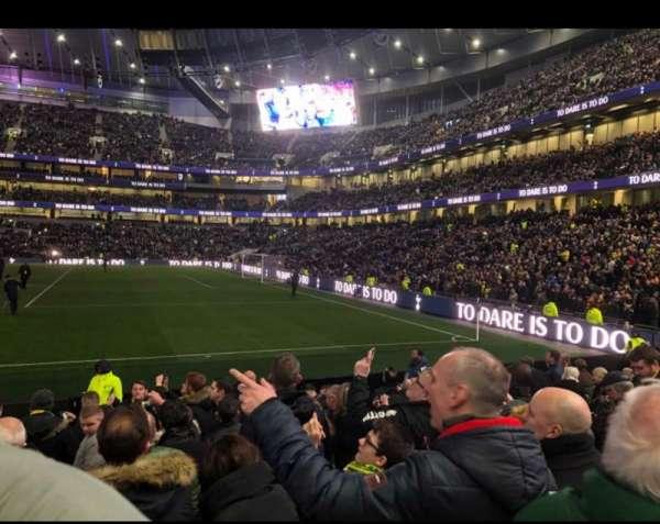 Tottenham Hotspur Stadium, vak: 118, rij: 11