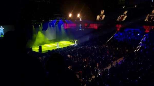 Mohegan Sun Arena, vak: 117, rij: B, stoel: 1