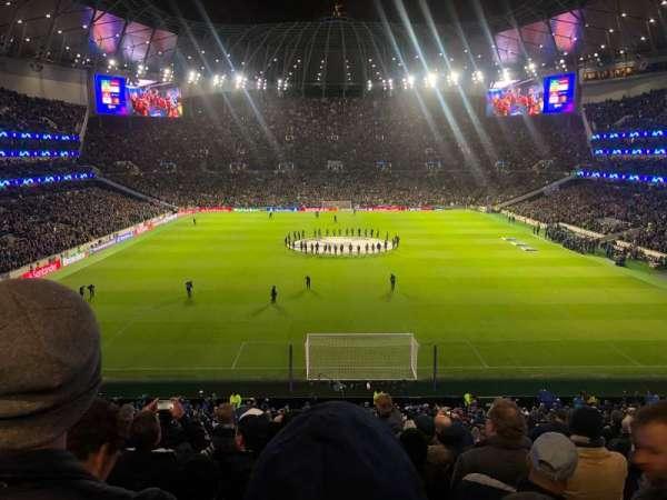 Tottenham Hotspur Stadium, vak: 420, rij: 11, stoel: 375