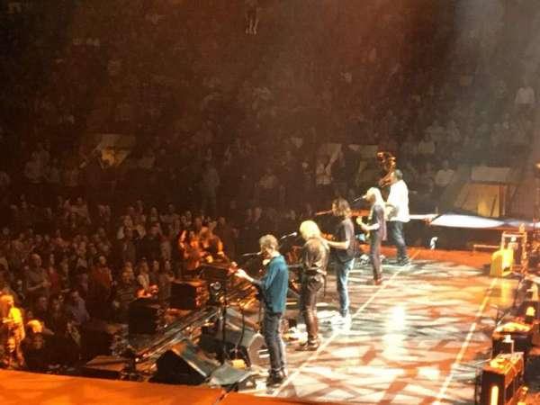 Madison Square Garden, vak: 109, rij: 9, stoel: 1