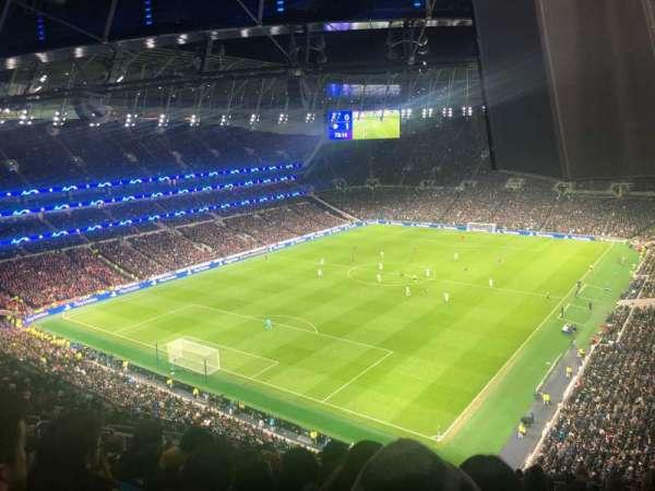 Tottenham Hotspur Stadium, vak: 511, rij: 16