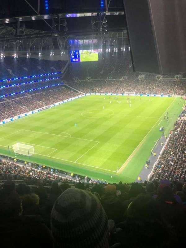 Tottenham Hotspur Stadium, vak: 511, rij: 18