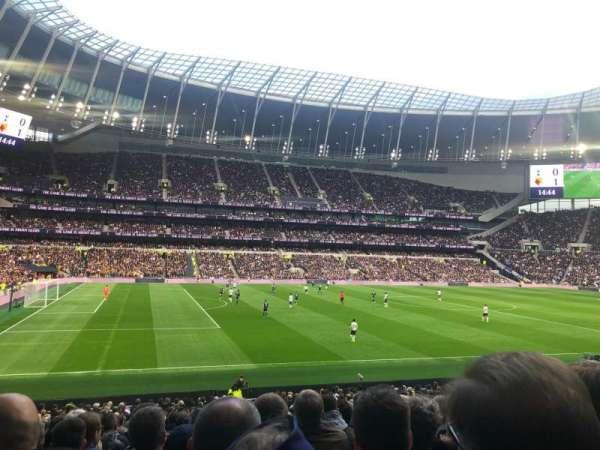 Tottenham Hotspur Stadium, vak: 108, rij: 27, stoel: 210
