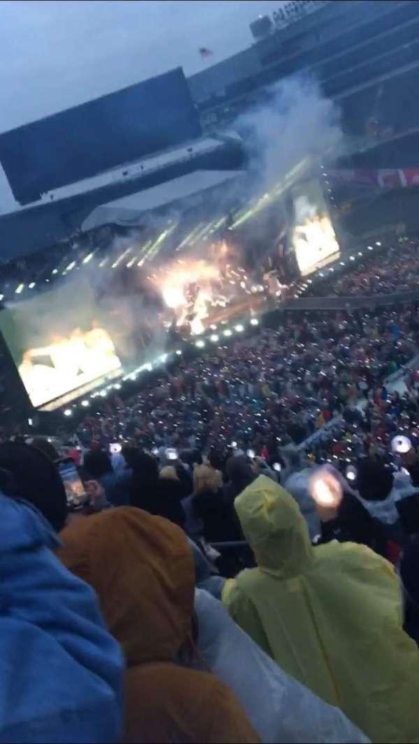 Soldier Field, vak: 335, rij: 11, stoel: 7