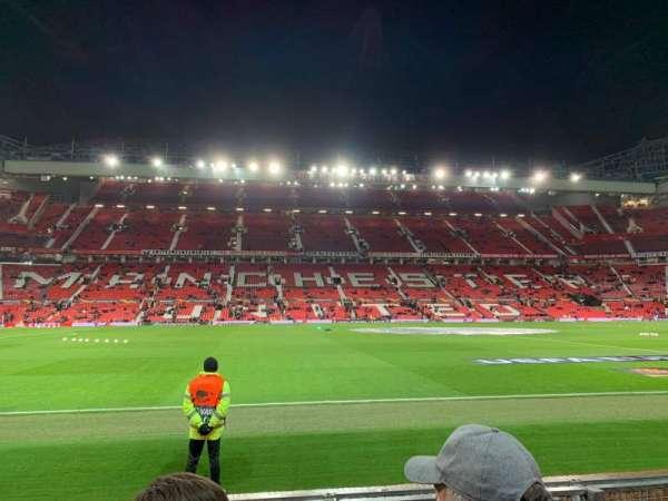 Old Trafford, vak: STH123, rij: GG, stoel: 169