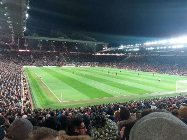 Old Trafford, vak: W202, rij: 12, stoel: 276