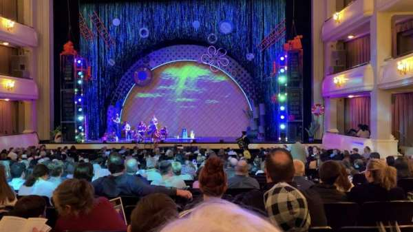 Bass Performance Hall, vak: Orchestra Center, rij: U, stoel: 15