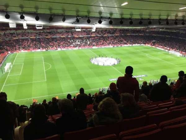 Emirates Stadium, vak: Block 93, rij: 73