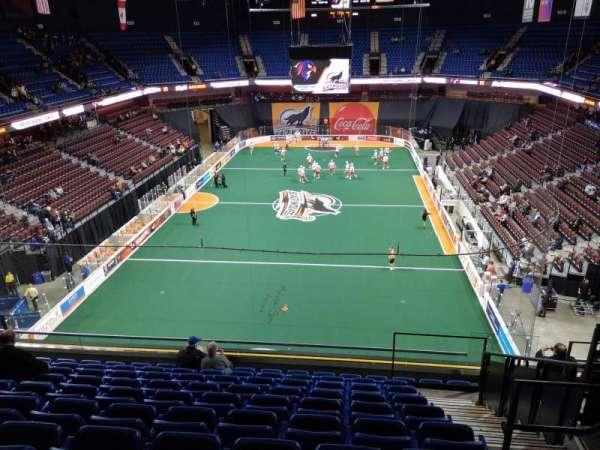 Mohegan Sun Arena, vak: 112, rij: K, stoel: 5