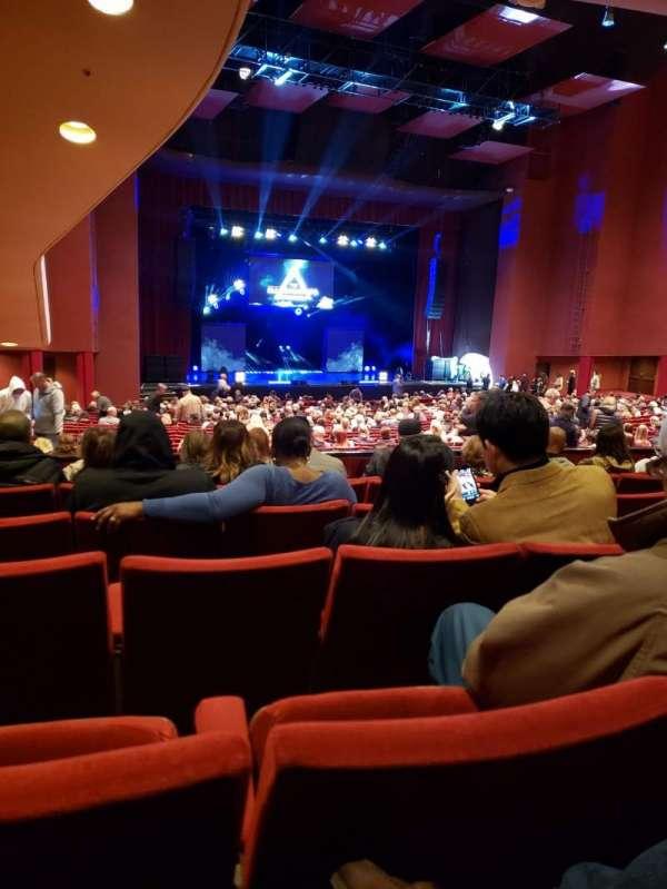 San Diego Civic Theatre, vak: DRESL6, rij: F, stoel: 49