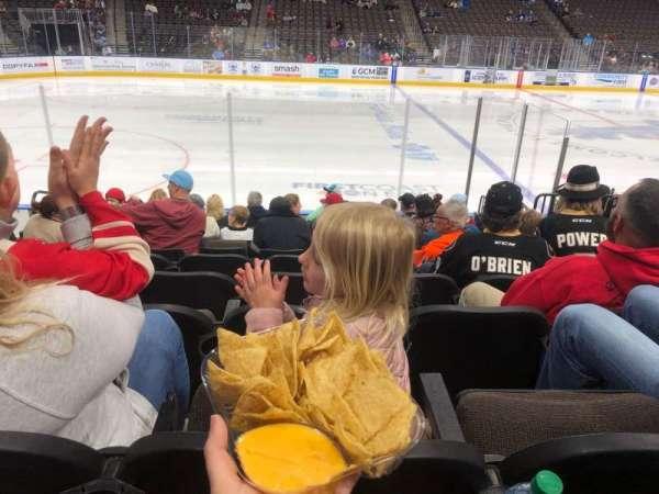 VyStar Veterans Memorial Arena, vak: 103, rij: J, stoel: 13