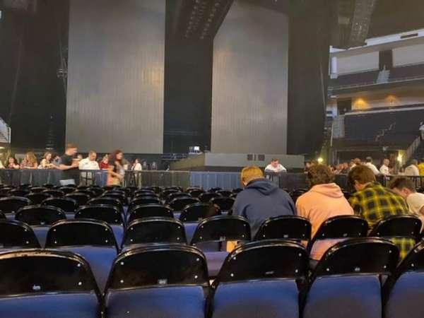 Infinite Energy Arena, vak: Floor 2, rij: L, stoel: 6