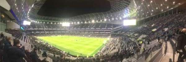 Tottenham Hotspur Stadium, vak: 259, rij: 37, stoel: 400