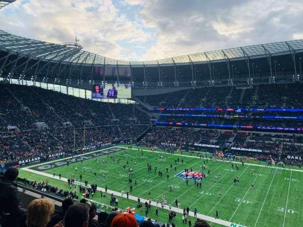 Tottenham Hotspur Stadium, vak: 523, rij: 5, stoel: 770