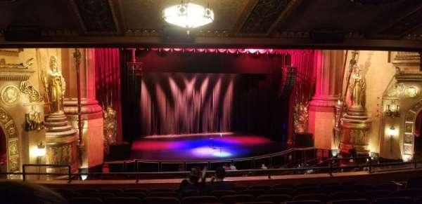 Beacon Theatre, vak: Loge 1, rij: H, stoel: 17
