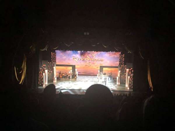 Radio City Music Hall, vak: 2nd Mezzanine 4, rij: H, stoel: 404