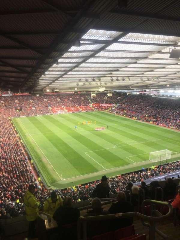 Old Trafford, vak: NW3434, rij: 25, stoel: 16