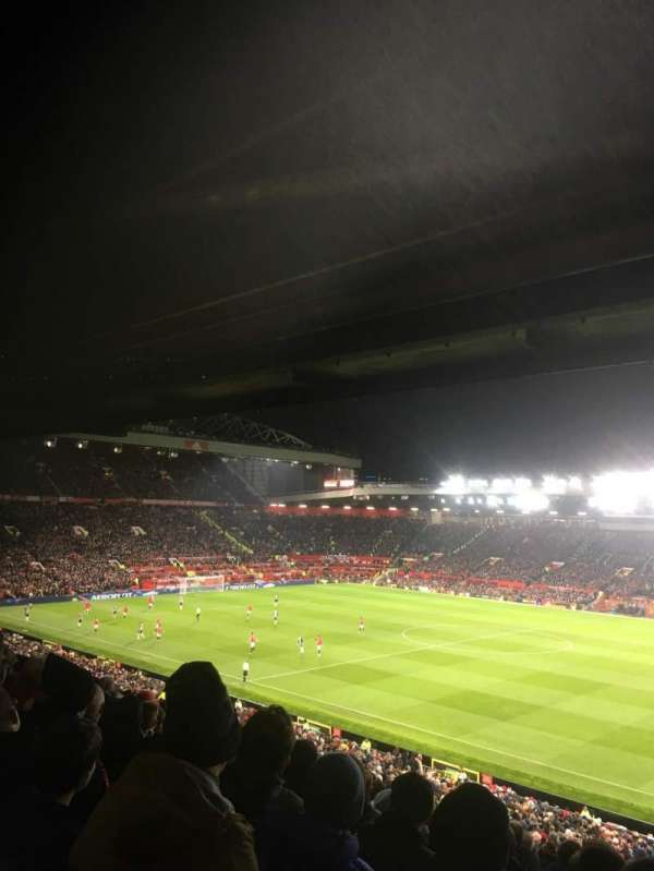 Old Trafford, vak: N2411, rij: 32, stoel: 24