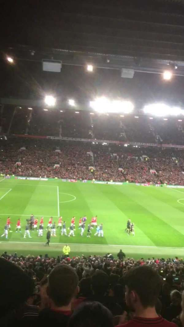 Old Trafford, vak: STH122, rij: 32, stoel: 109