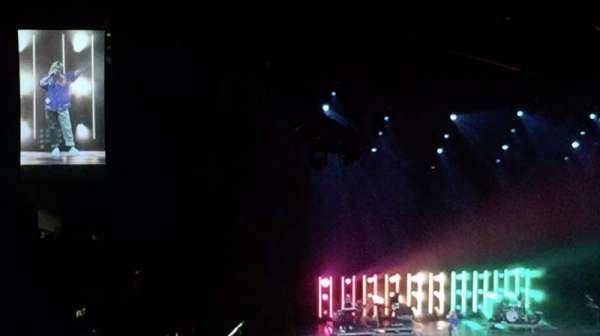 Staples Center, vak: 207, rij: A