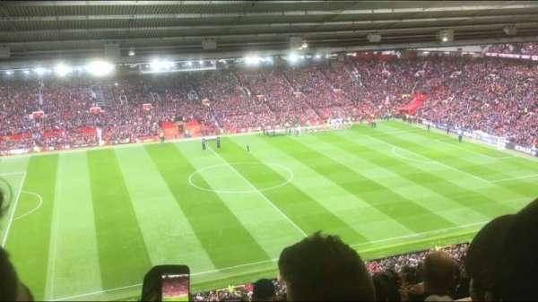 Old Trafford, vak: N3403, rij: 30, stoel: 173