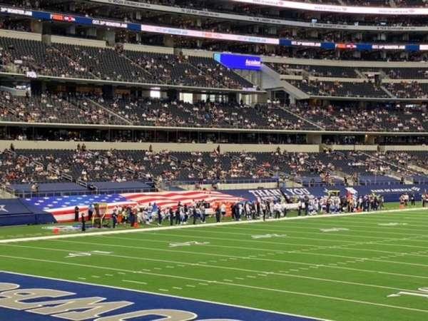 AT&T Stadium, vak: 145, rij: 16, stoel: 10