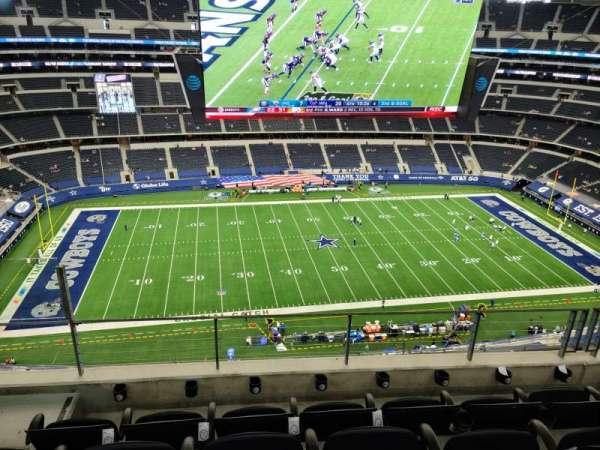 AT&T Stadium, vak: 444, rij: 12, stoel: 18