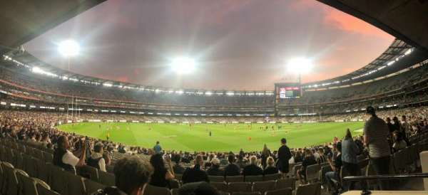 Melbourne Cricket Ground, vak: M52, rij: BB, stoel: 5