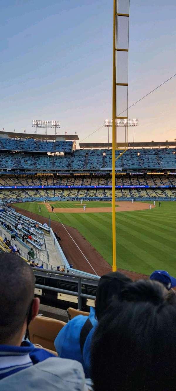 Dodger Stadium, vak: 166LG, rij: E, stoel: 4