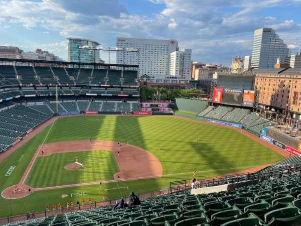 Oriole Park at Camden Yards, vak: 324, rij: 22, stoel: 13