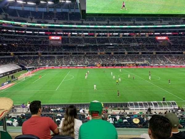 AT&T Stadium, vak: C212, rij: 4, stoel: 8