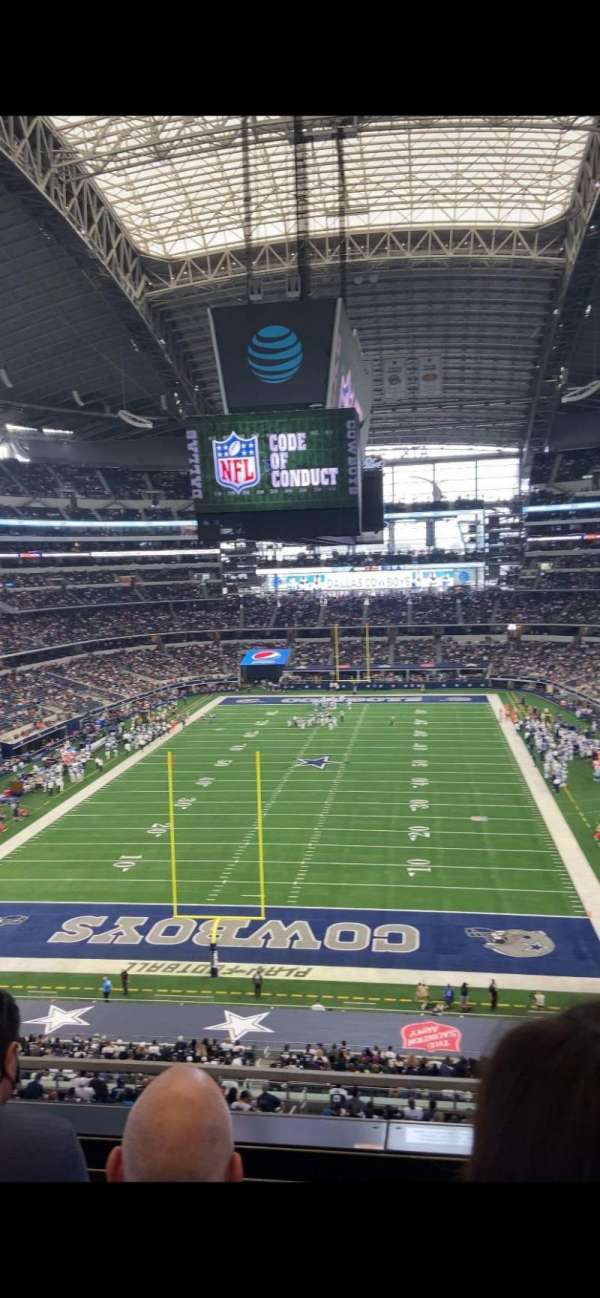 AT&T Stadium, vak: 322, rij: 3, stoel: 15