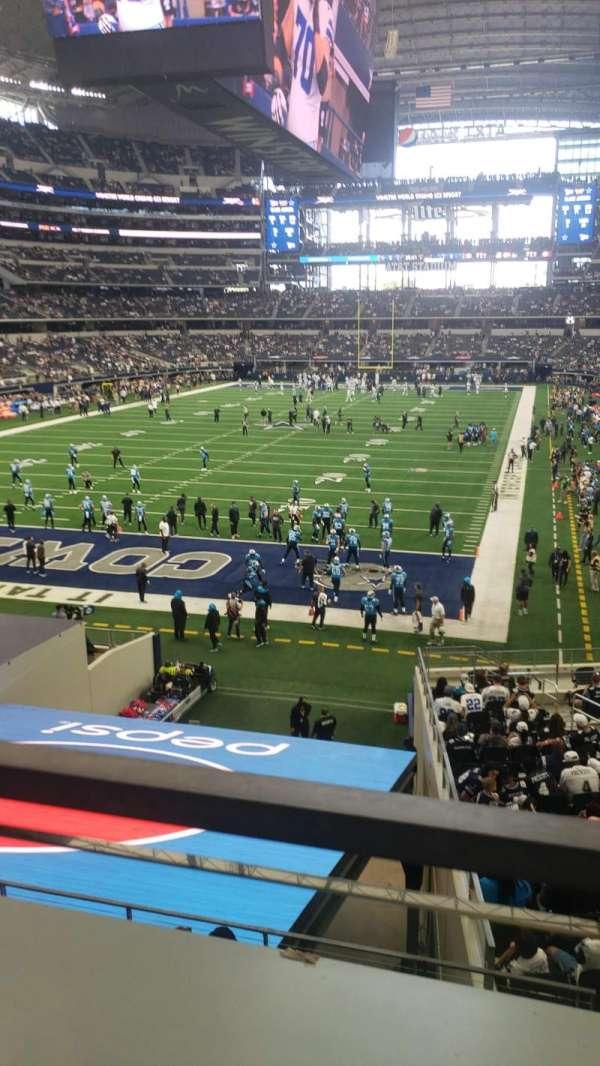 AT&T Stadium, vak: 245, rij: 1, stoel: 1 and 2