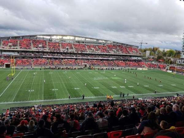 TD Place Stadium, vak: GG, rij: 10, stoel: 18